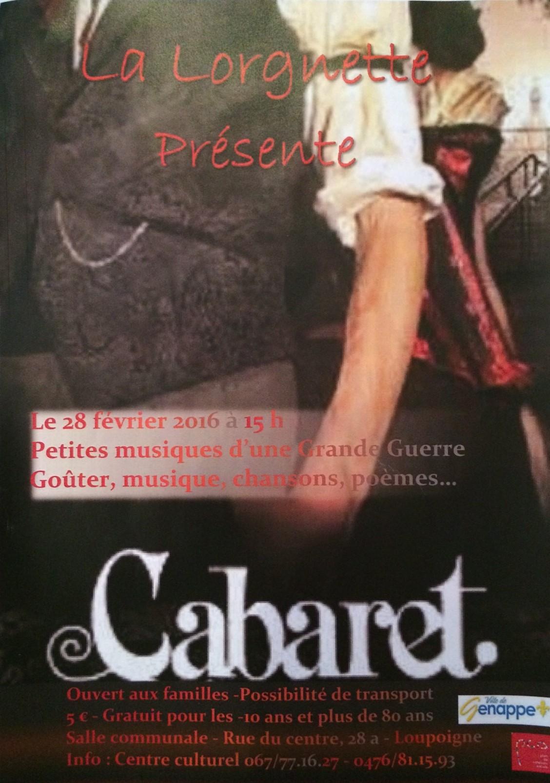 Image principale Cabaret - Théâtre de la Lorgnette